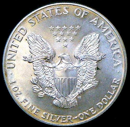 American Silver Eagle Bullion Coins One Troy Ounce (1986-Present)