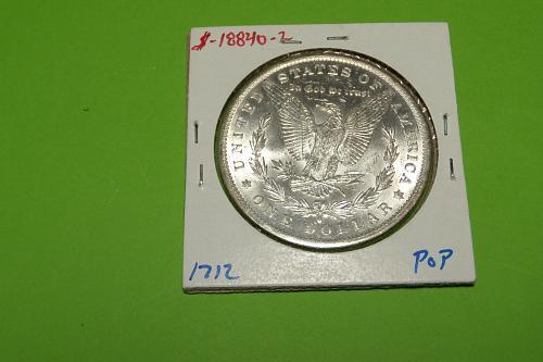 1884O Morgan Dollar  MS64+  #$-1884O-2