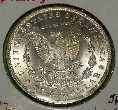 1885O Morgan Dollar  MS63  #$-1885O-3