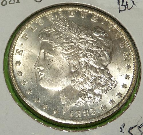 1885O Morgan Dollar  MS61   #$-1885O-4