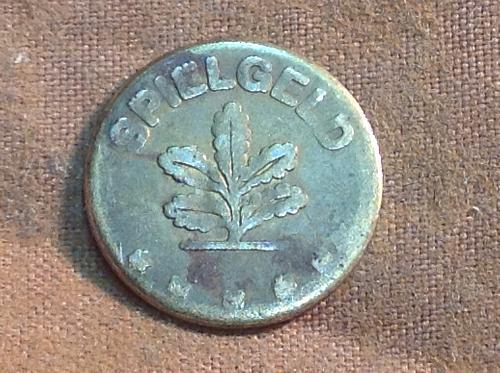 Germany 5 Spielgeld Token