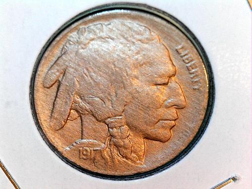 1917 P Nickel