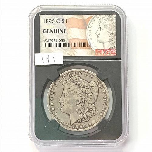 Morgan Silver Dollar 1896 -O