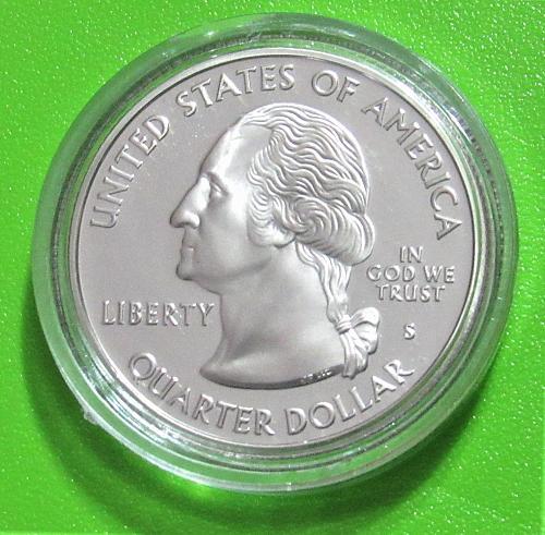 2006-S 25 Cents - North Dakota State Quarter - Cameo Proof