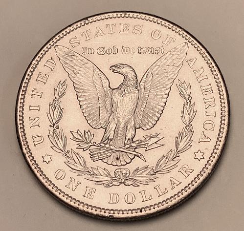 1897 Morgan Silver Dollar BU [MDL 562]