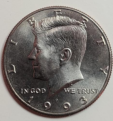 1993-P Kennedy Half Dollar MS-65 (GEM)