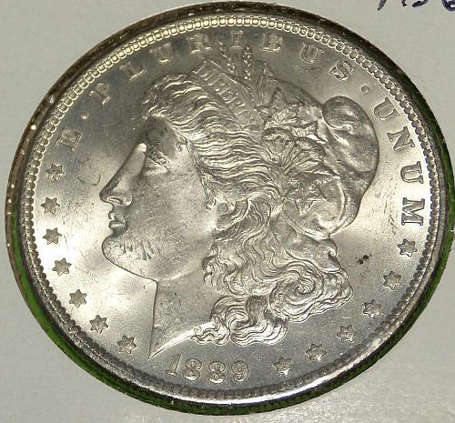 1889 Morgan Dollar  MS62  #$-1889-2