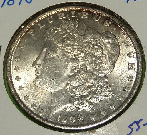 1890 Morgan Dollar  MS61  #$-1890-3