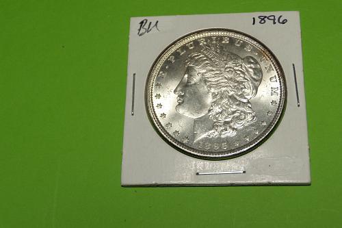 1896 Morgan Dollar  MS64  #$-1896-2