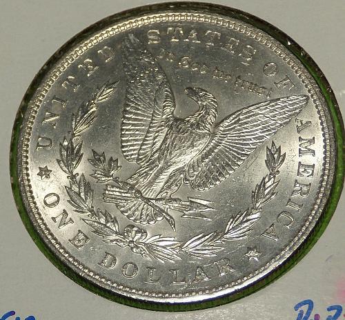 1896 Morgan Dollar  MS62  #$-1896-4