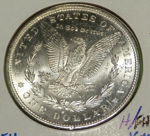 1897S Morgan Dollar  MS63  #$-1897S-1
