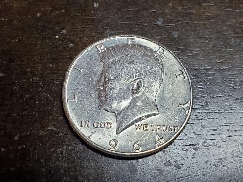 Silver JFK Half Dollar