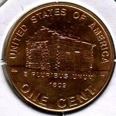 2 - 2009 - D  LINCOLN CENT -- Birth and Childhood Years