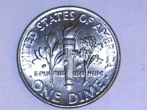 2013 P Roosevelt Dime with   Full Bands