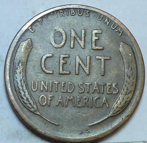 1912-S VF Lincoln Wheat Cent Very Fine ( M-119 )