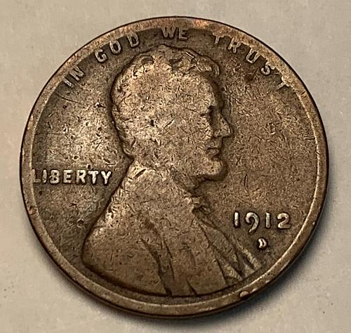 1912-D Lincoln Wheat Cent  [LC 282]