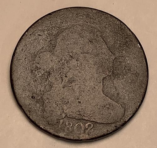 1802 Draped Bust Large Cent AG3 [LGC 86]