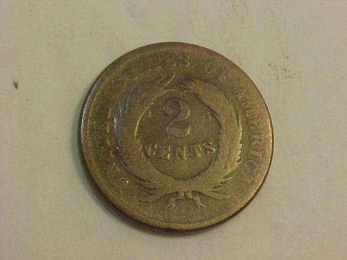 1865 2 CENTS     ai36