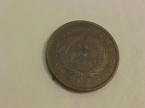 1867 2 CENTS     ai38