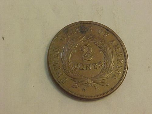 1869 2 CENTS     ai40