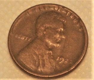 1922 - D  Weak D  Lincoln Cent + ERROR