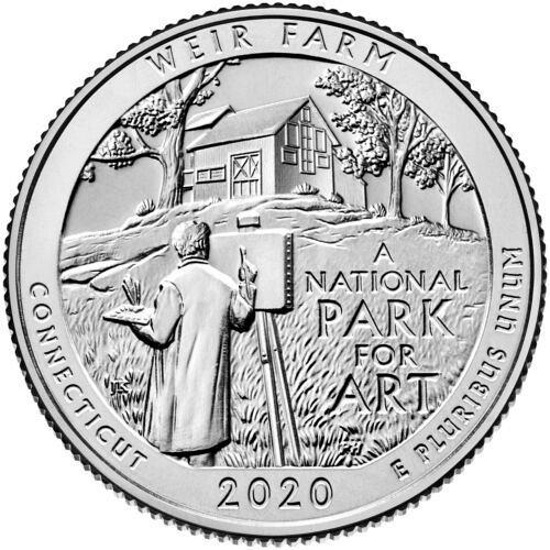 TWO  ( 2 ) 2020    W    WEIR FARM    WASHINGTON QUARTER'S