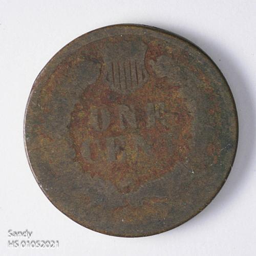 1881 Indian Head Cent AG
