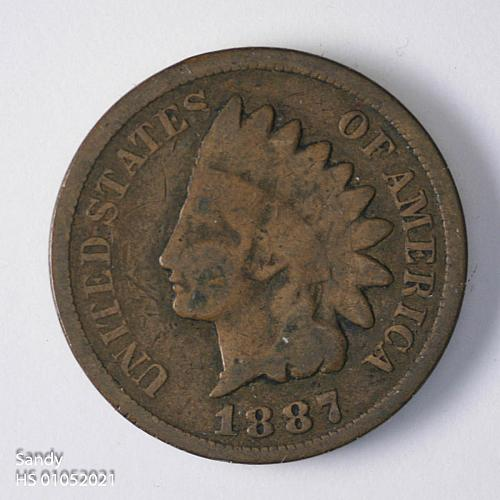 1887 Indian Head Cent G