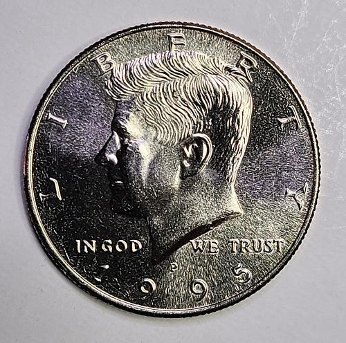 1995-P Kennedy Half Dollar MS-64 (Near Gem)
