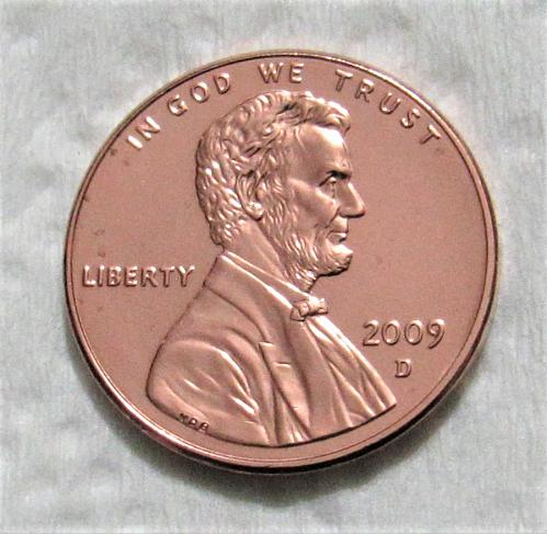 2009-D 1 Cent - Birth & Early Childhood Lincoln Bicentennial Cent