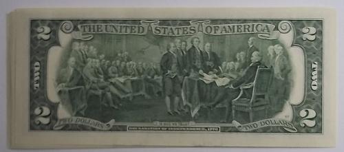 Untited States 10 ($2) Dollar Bills