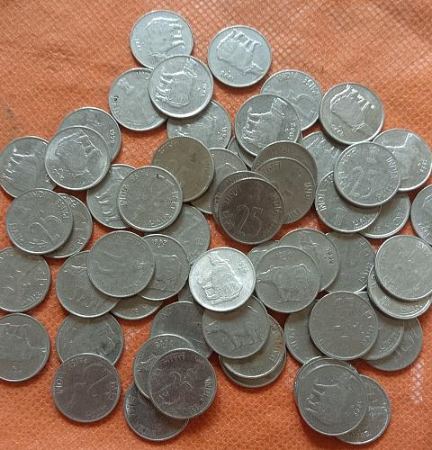 BUYER GET 10 COINS..from lot..Mix year..India coins..