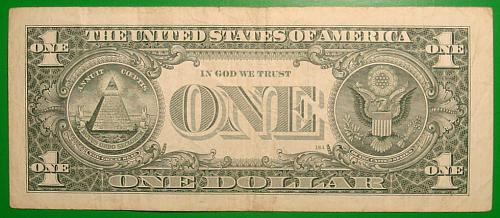 """2009 $1 Federal Reserve Note  """"Green Seal"""" BIRTHDAY NOTE 09/06/1975"""