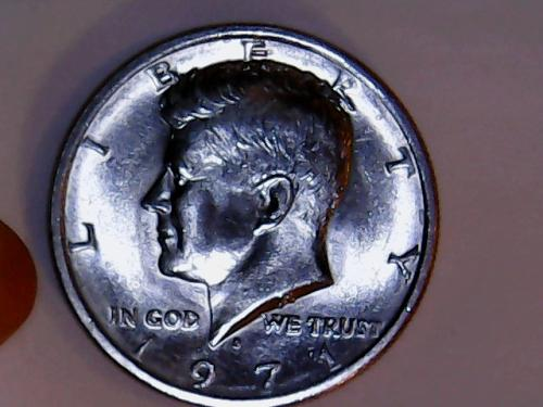1971 D Kennedy Half Dollar. See Pictures