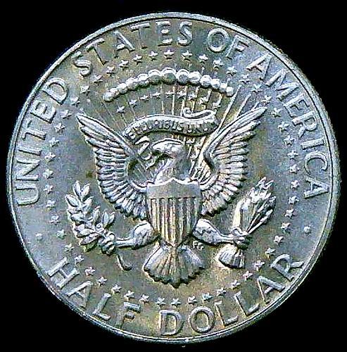 1965 Kennedy Half Dollars 40% Silver Composition V2P13R4