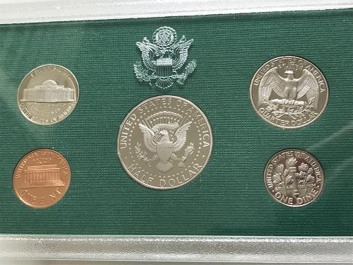 1997-S US Mint Clad Proof Set W/box and COA (0125-4)