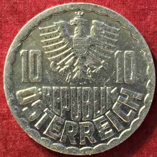Austria - 1982 - 10 Groschen