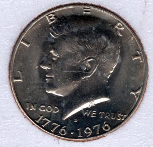 1976 D Kennedy Half Dollars - #4a