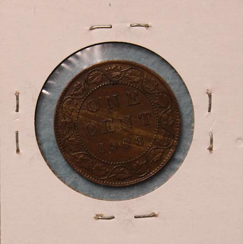 Canada 1908 cent