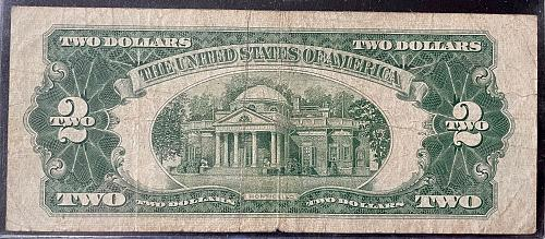 Red Seal 1953C $2.00 Star Note Vol 2