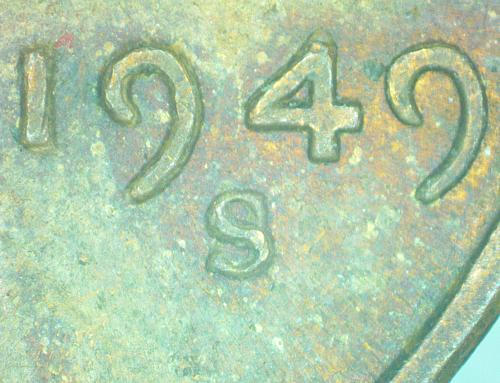 1949s raw ungraded double die RPM Lincoln Cent 1949s-1do-002 1949s-1mm-013