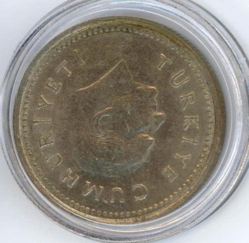1000 Lire 1992 Turkiye. UNC