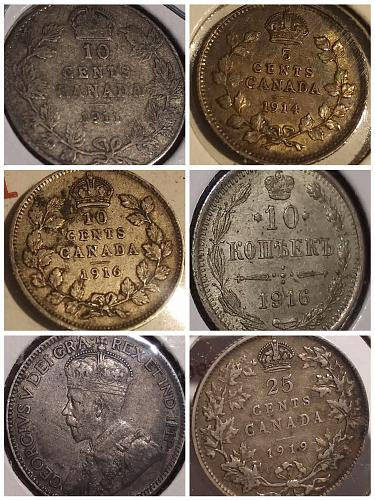 Deluxe 20pc. Canada 🇨🇦 & WORLD 🌎 Coin Mixture 1799-1952