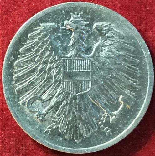 Austria - 1954 - 2 Groschen [#3]
