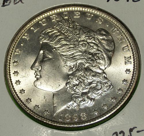 1898 Morgan Dollar  MS65  #$-1898-1