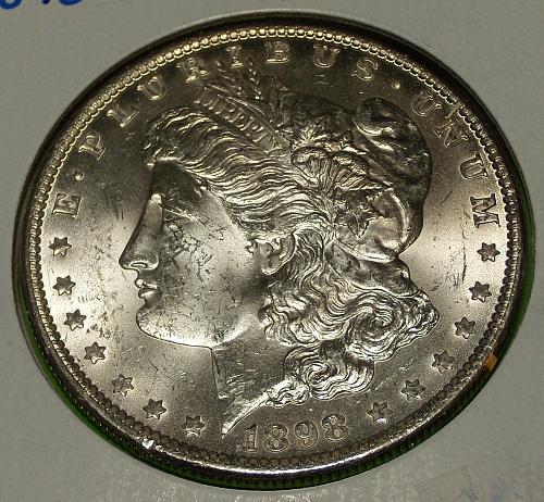 1898O Morgan Dollar  MS63  #$-1898O-1
