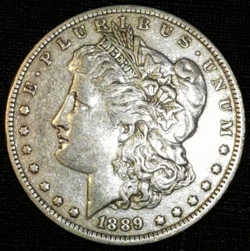 1889 O Morgan Dollars Extremely Fine