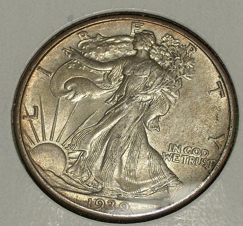 1939 Walking Liberty Half Dollar  AU55  #50-1939-1