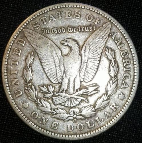 1892 O Morgan Dollars Extremely Fine