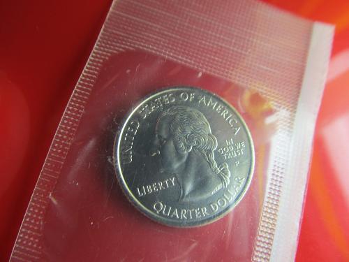 2005 P Kansas State Quarter BU